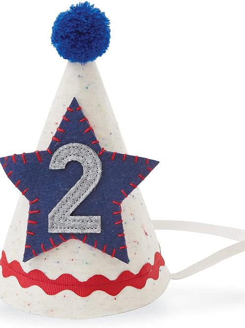 2 Birthday Boy Hat