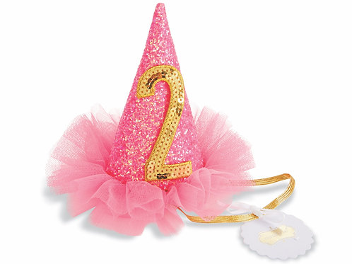 2 Glitter Party Hat