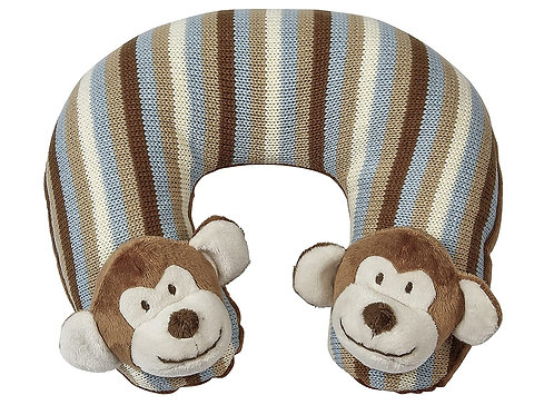 Maison Chic Travel Pillow, Mike The Monkey