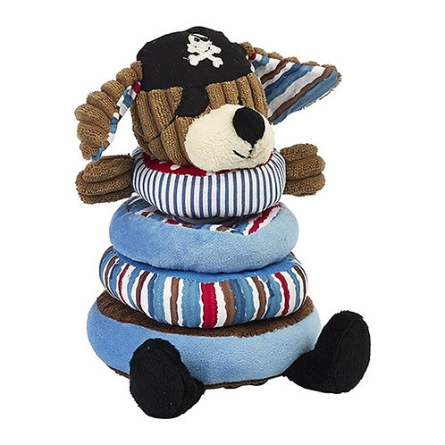 Maison Chic Patch the Pirate Dog Stacking Rings