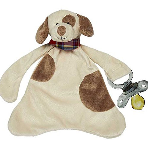 Maison Chic Pacifier Blankie, Max The Puppy