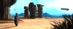 Desert Mining Station