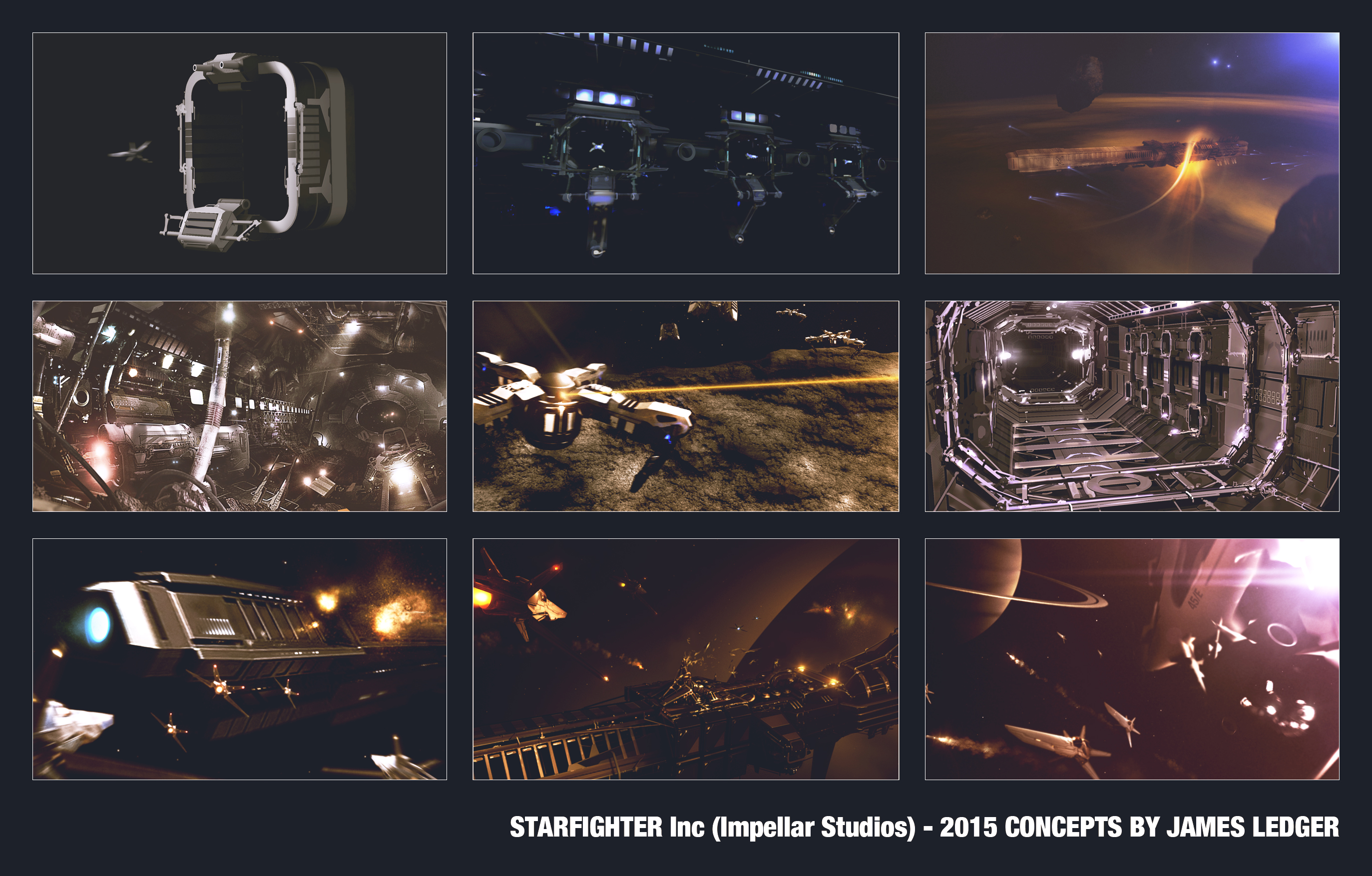 Starfighter Inc Concepts