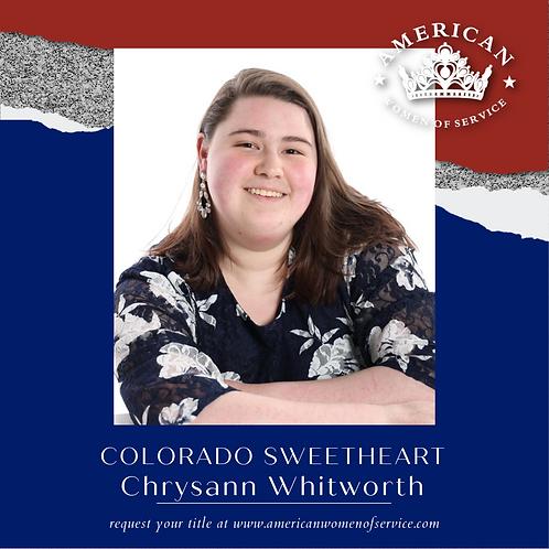 Chrysann Whitworth