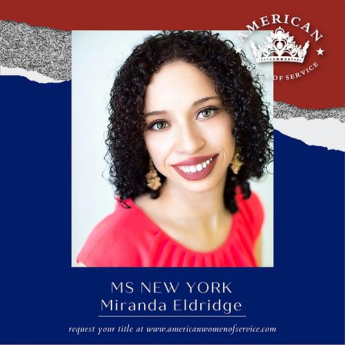 Miranda Eldridge