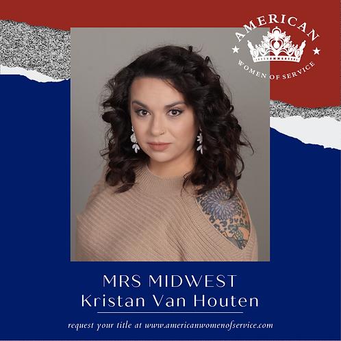 Kristan Van Houten
