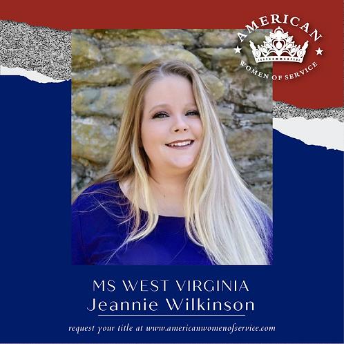 Jeannie Wilkinson