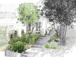 Jardin de l'îlot Saint-Flou