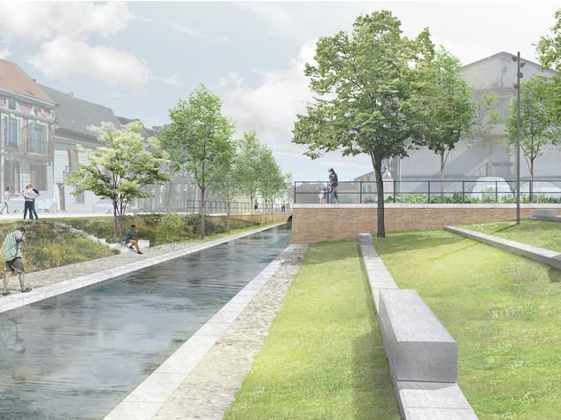 Cours Joseph Rambaud et découverte du canal