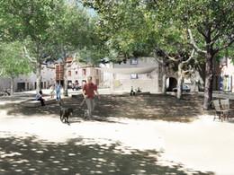 Place de la République et de la Cabanette