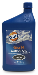Gulfpride Motor Oil 40