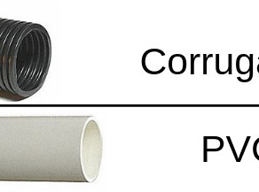 Corrugated vs PVC Pipe for Home Drainage Systems in Cumming, Georgia