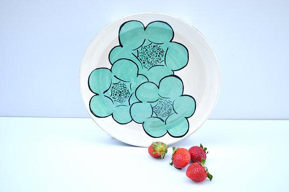 Blooming Flower Dinner Plate