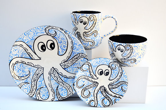 Octopus Full Place Setting