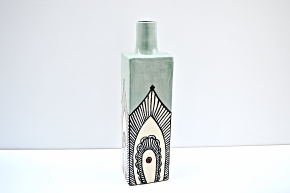 Paisly Vase # 3