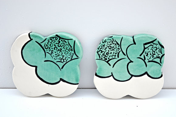 Blooming Flower Coasters