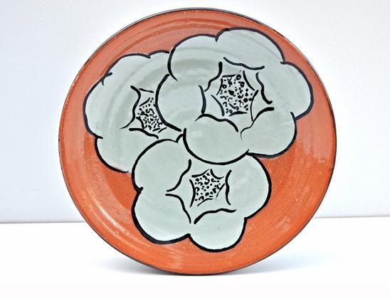 Blooming Flower  Dessert Plate
