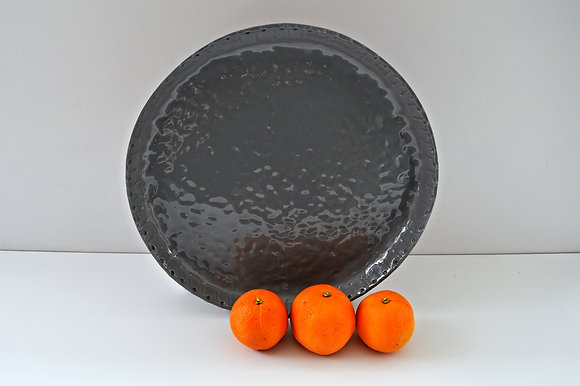 Round Textured Platter