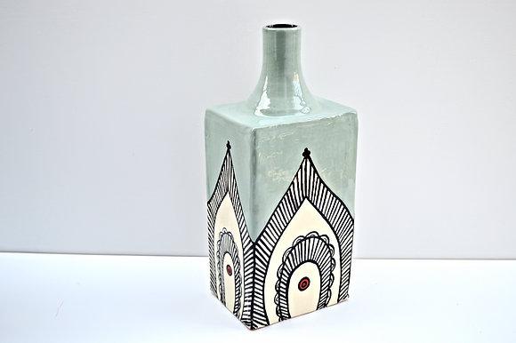 Paisley vase # 2