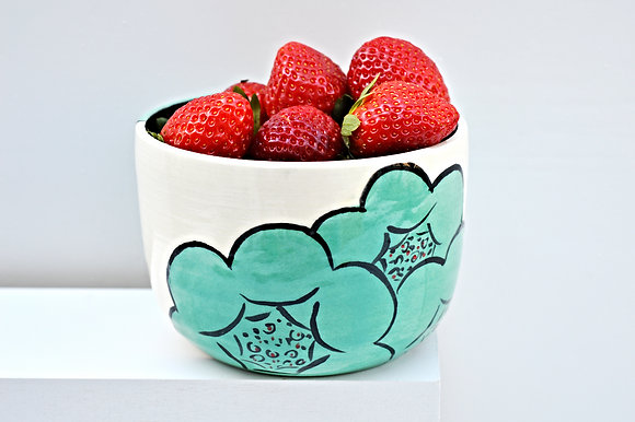 Blooming Flower Cereal Bowl