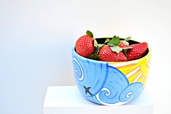 Blue Skies Cereal Bowl