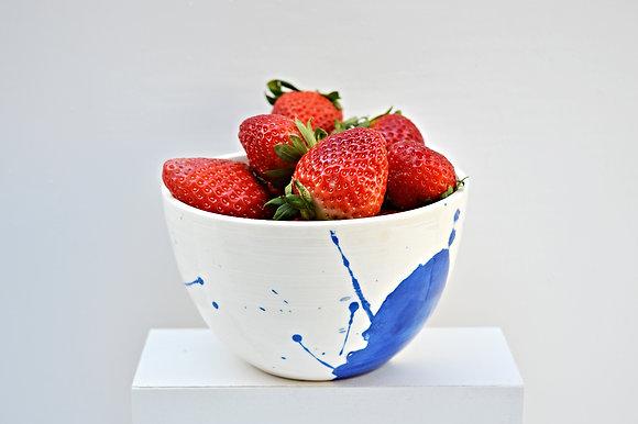 Splattered Cereal Bowl