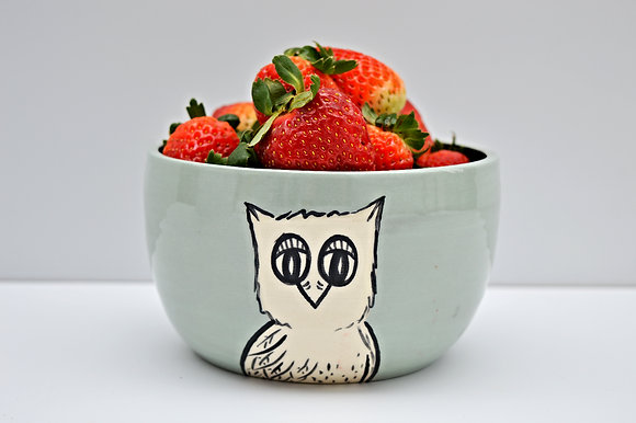 Owl Cereal Bowl