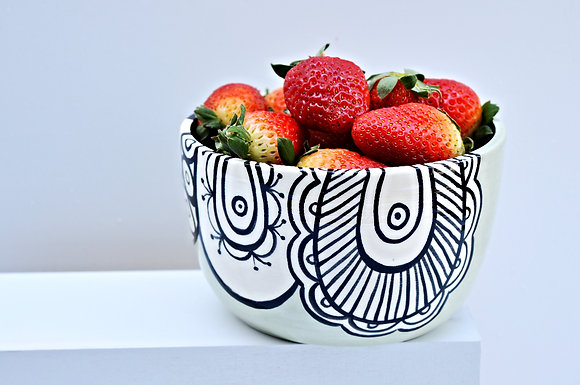 Paisley Cereal Bowl