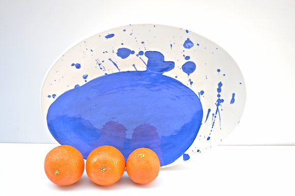Splatter Serving Platter