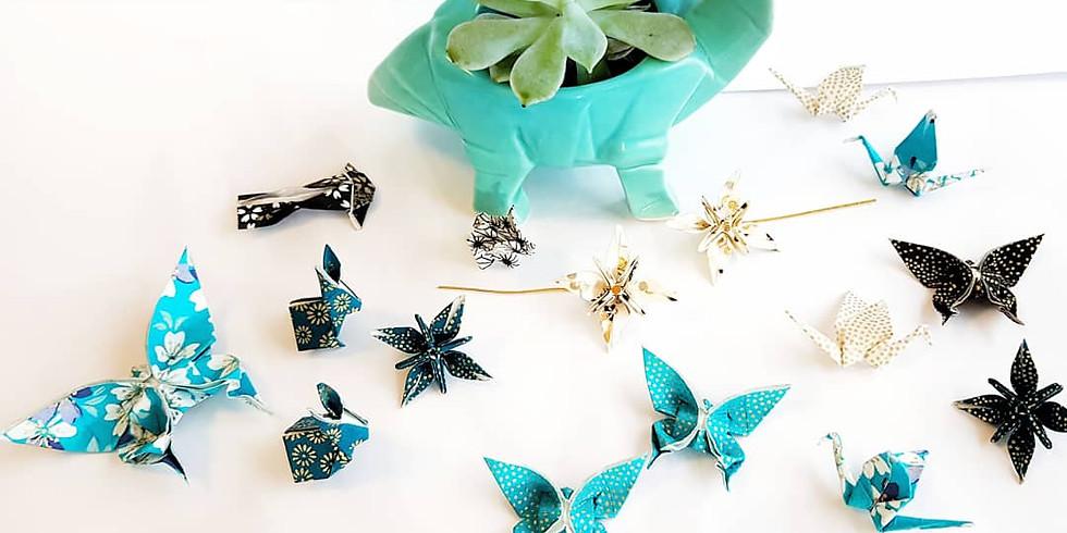 Origami Animaux de papier