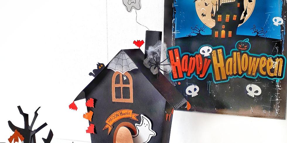 Création d'une maison hantée en papier