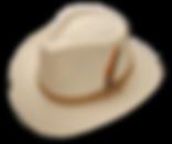 Sombrero de tela gabardina