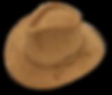 Sombrero Australiano de cuero nobucado
