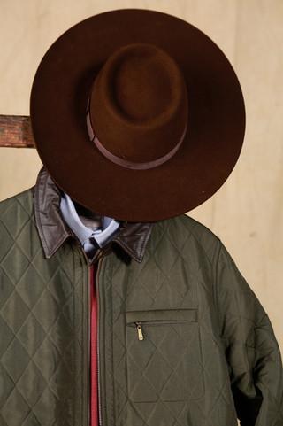Sombrero Pampa Ala 8 cm  - Camisa Esquel Oxford - Campera Güemes - Sweater Puan