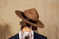 Sombrero Scout Ala 9 cm Color Piedra