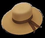 Sombrero de dama fieltro de pelo de liebre y nutria