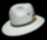 Sombrero de pesca de verano realizado con panamá