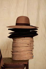 Sombrero Salteño Ala 9 cm Color Piedra
