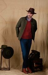 Sombrero Australiano Cuero Engrasado - Camisa Esquel Oxford - Sweater Puan - Campera Güemes - Jean Posadas Temporada.