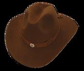 Sombrero cowboy texano de fieltro impermeable