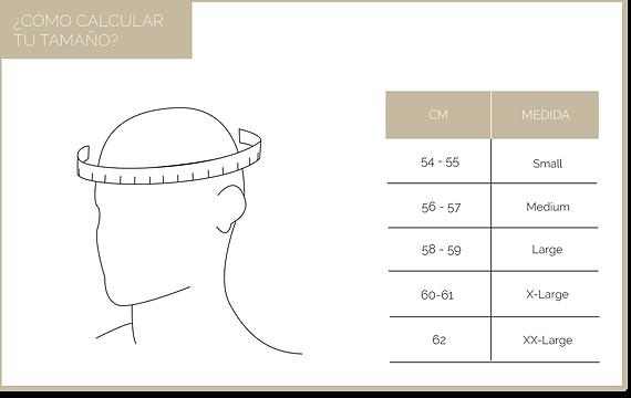 Medidas de Sombreros Lagomarsino