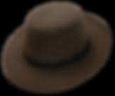 Sombrero de invierno de fieltro