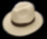 Sombrero panamenio de verano
