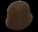 Sombrero de fieltro de pelo de liebre y nutria e impermeable