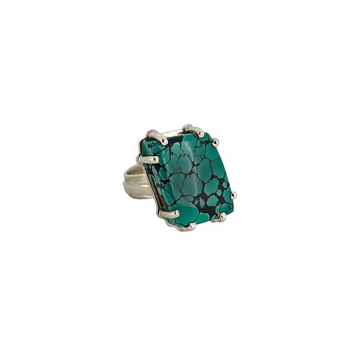 SS Turquoise Ring
