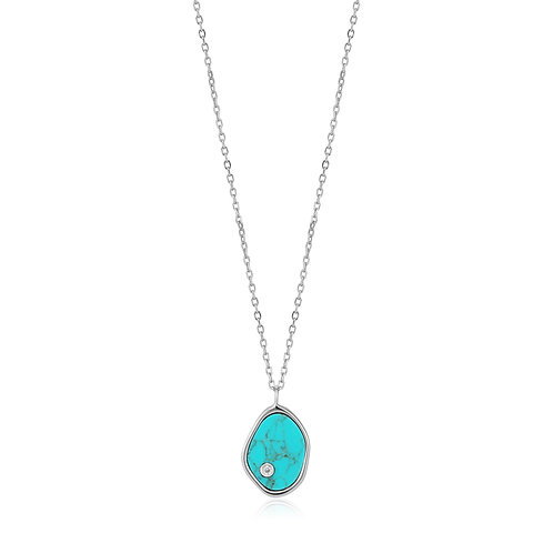 SS Turquoise Necklace
