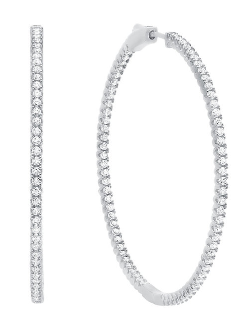 SS Large Inside Out Hoops