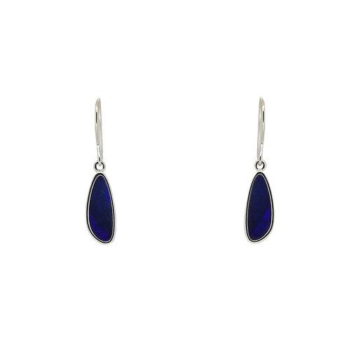 SS Opal Doublet Earrings
