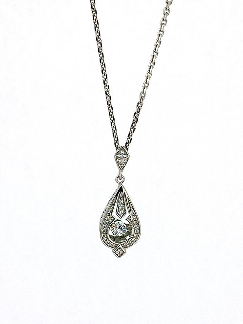 SS Vintage Inspired Pendant