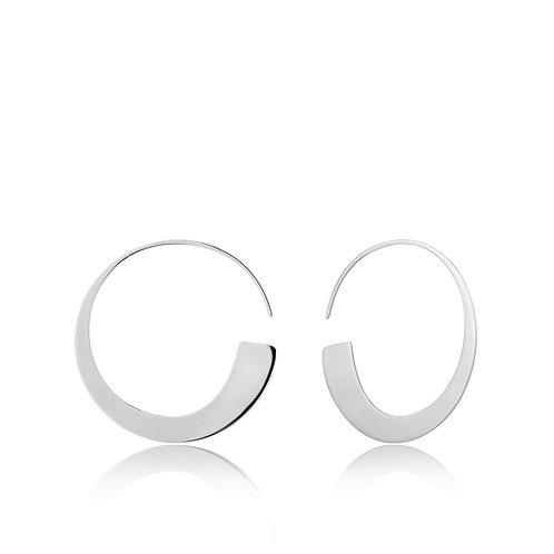 SS Slim Hoop Earrings